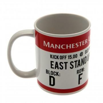 Manchester United Match Ticket Mug